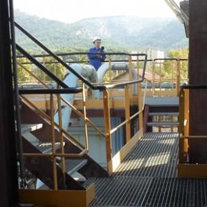 Mesure exploratoire pour l'étude d'impact d'un site chimique à Marseille