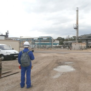 Mesures de l'impact acoustique d'un site chimique sur sa limite de propriété à Marseille
