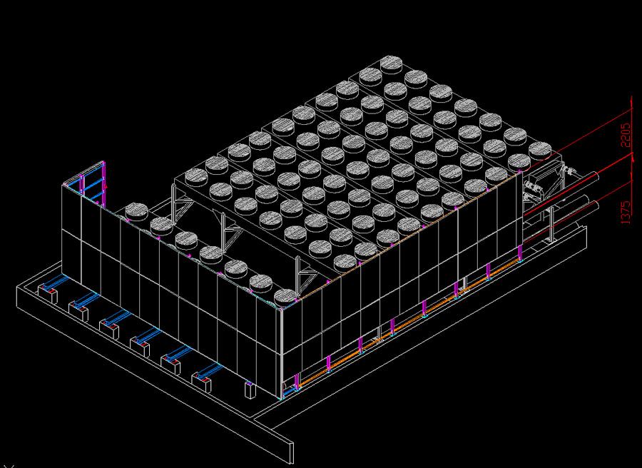 Conception du plan d'implantation des écran acoustiques de Lyon Confluence